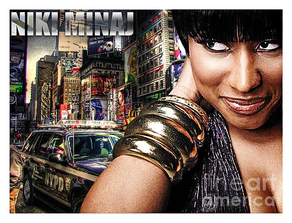Niki Minaj Print by The DigArtisT