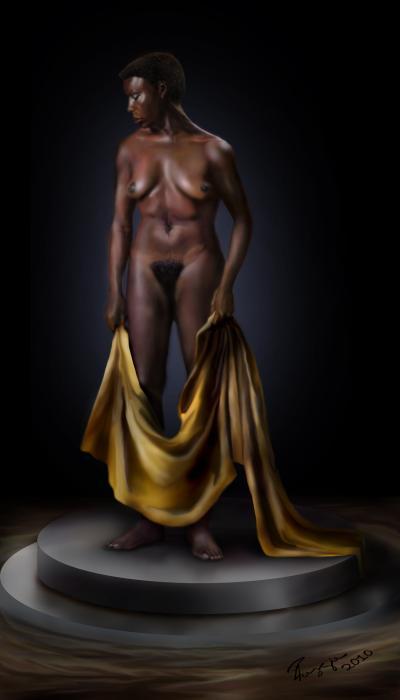 Nina Simone-potters Wheel Print by Reggie Duffie