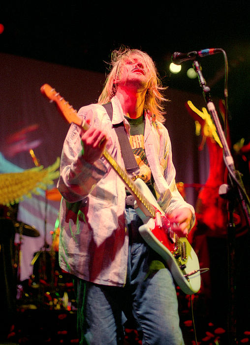 Nirvana Concert Photo 1993 No.2 Print by J Fotoman
