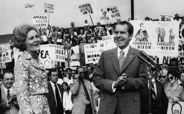 Nixon Presidency.  First Lady Patricia Print by Everett
