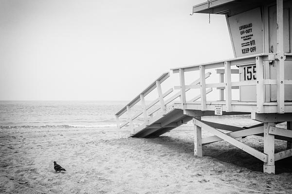Terry Ellis - No Lifeguard On Duty Black and White