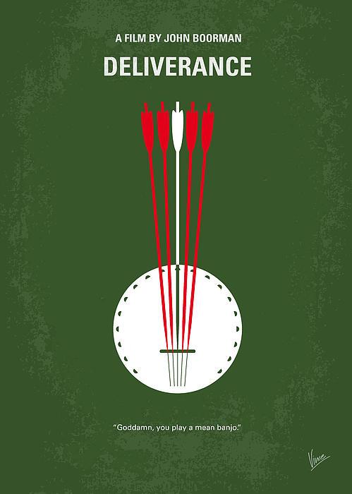 No020 My Deliverance Minimal Movie Poster Print by Chungkong Art