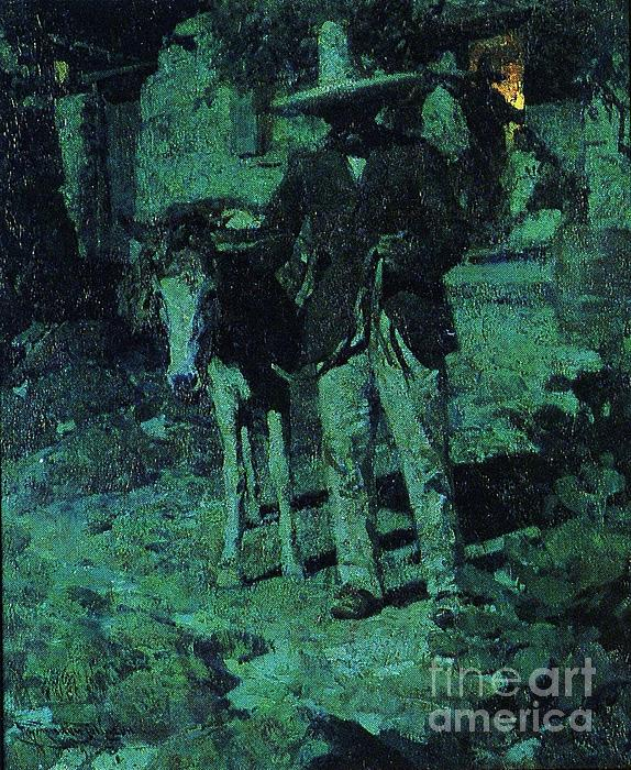 Nocturne Contrast Print by Pg Reproductions