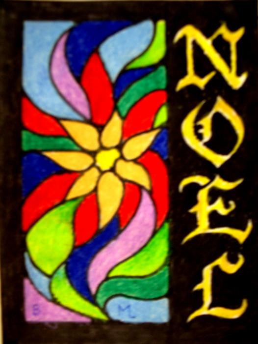 Noel Mixed Media  - Noel Fine Art Print