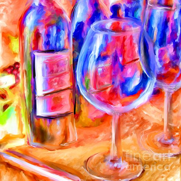 North Carolina Wine Mixed Media