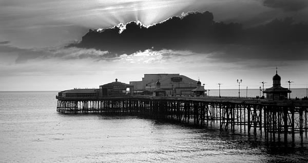 North Pier Print by Aetherial Pictography