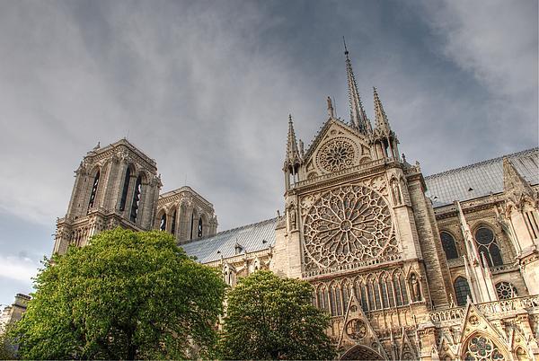 Notre Dame De Paris Print by Jennifer Lyon