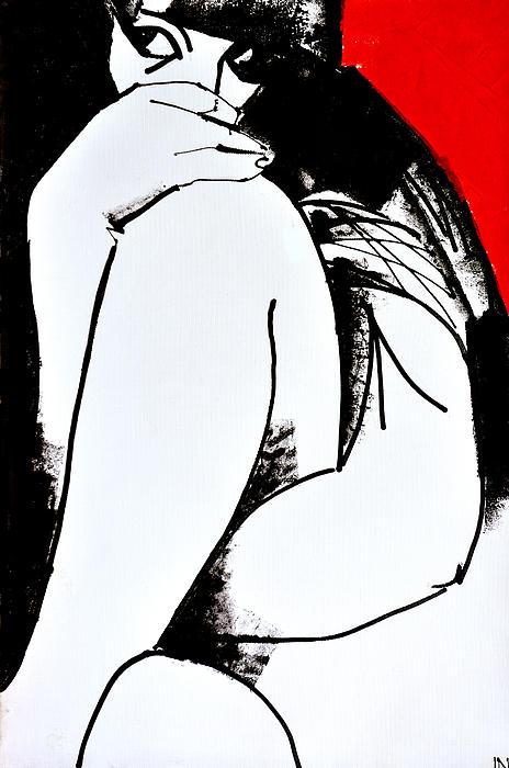 Nu 201 Print by Igor Nelubovich