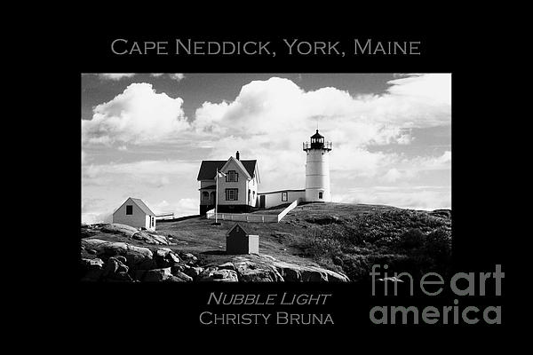 Nubble Light Print by Christy Bruna