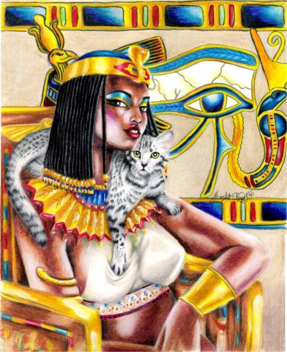 Nubian Queen Print by Scarlett Royal
