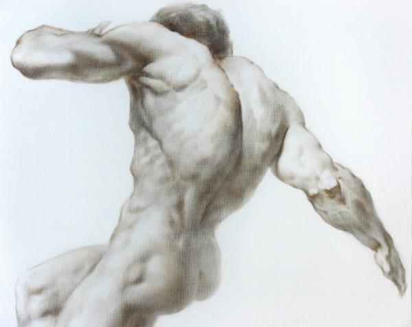 Nude 1a Print by Valeriy Mavlo