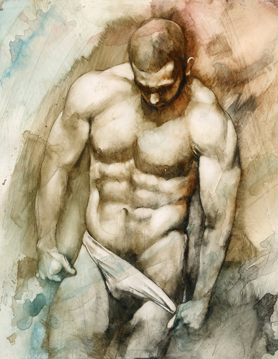 Nude 49 Print by Chris  Lopez