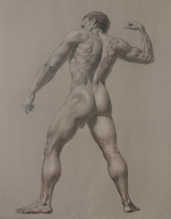 Nude-8 Print by Valeriy Mavlo