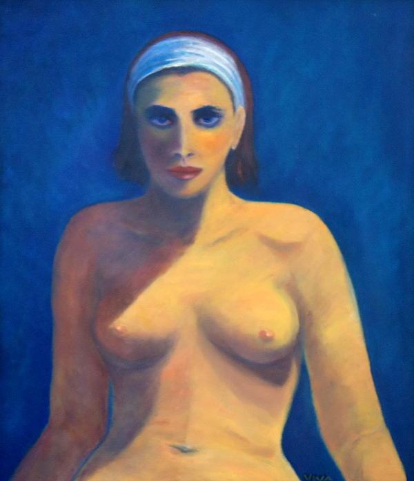 Vivian ANDERSON - Nude In Blue