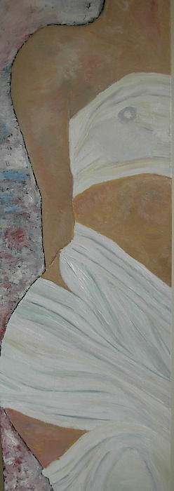 Nude In Spa Print by Dorota Nowak