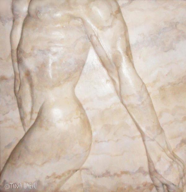 Nude Male Strolling Sculpture - Nude Male Strolling Fine Art Print - Tina ...