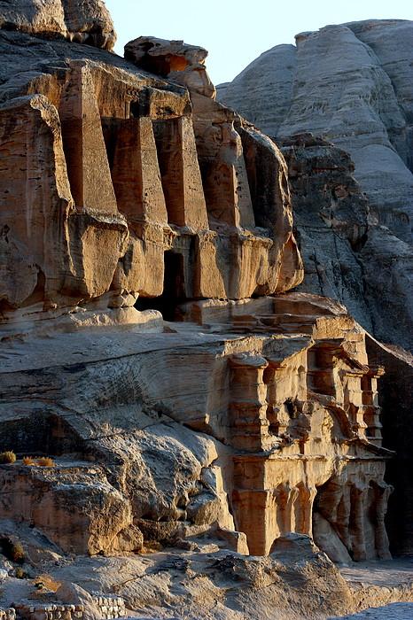 Obelisk Tomb & Bab Al Siq Triclinium Print by Joe & Clair Carnegie / Libyan Soup