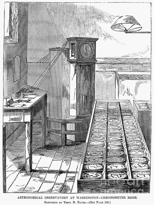 Observatory: Chronometer Print by Granger