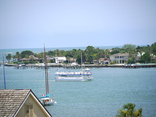 Ocean and Bay Saint Augustine Photograph