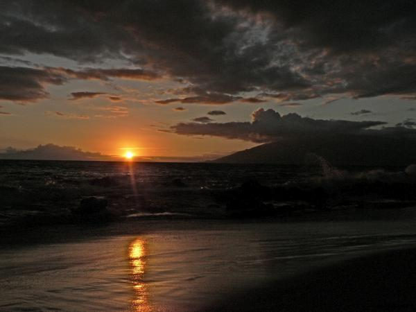 Carla Stein - Ocean sunset