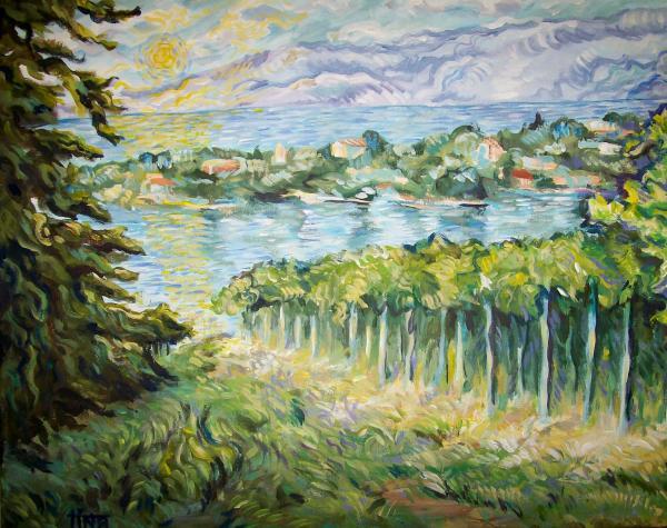 Tina Siddiqui - Ode to Van Gogh from the Okanagan
