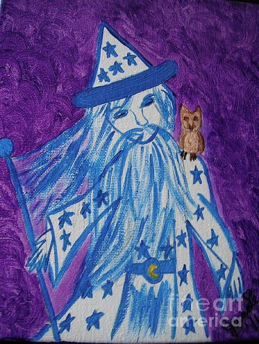 Off To See The Wizard Print by Jeannie Atwater Jordan Allen