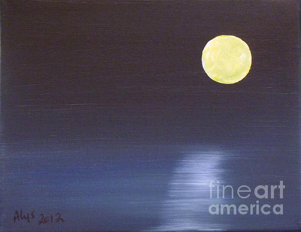 Offset Moon Print by Alys Caviness-Gober