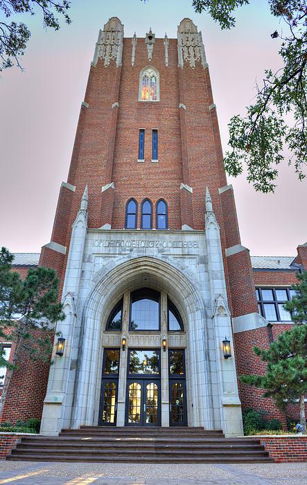 Oklahoma City University Print by Malania Hammer