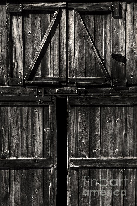 Paul W Faust -  Impressions of Light - Old Bodie Barn Door