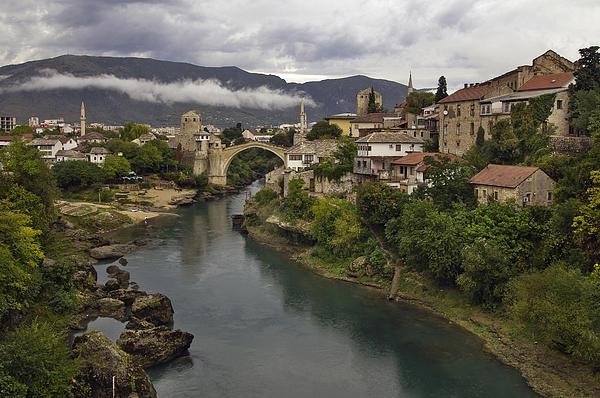 Old Bridge Of Mostar Print by Ayhan Altun