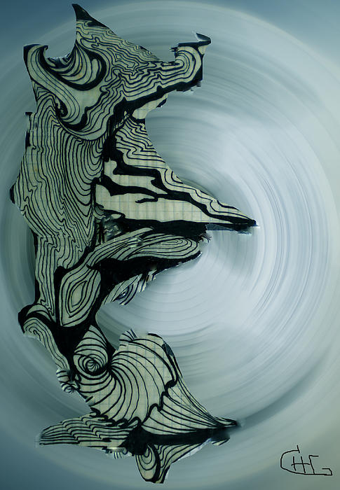 Old Drawing Called Serenity 2   Print by Colette V Hera  Guggenheim