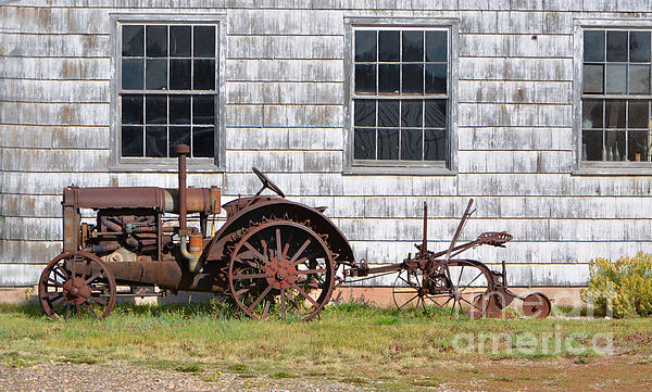 Old Farm Equipment Photograph
