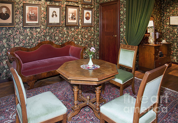 Old Fashioned Furniture At The Alatskivi Castle By Jaak Nilson