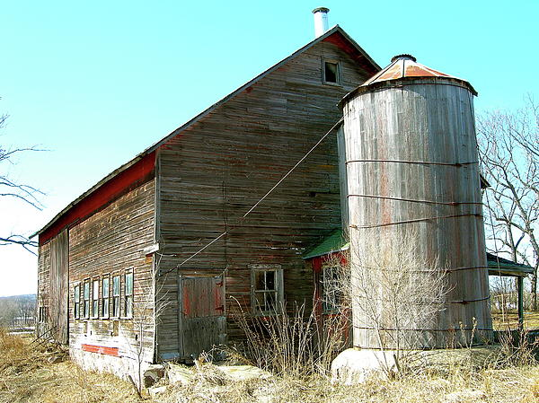 Randy Rosenberger - Old Fashioned Wood Stave Silo