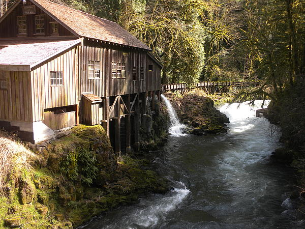Old Grist Mill Print by Garry Kaylor