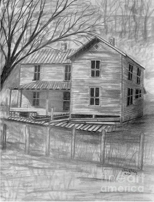 Old Homeplace Print by Julie Brugh Riffey
