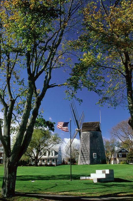 Old Hook Mill  East Hampton  Long Island  New York, Usa Print by Purestock