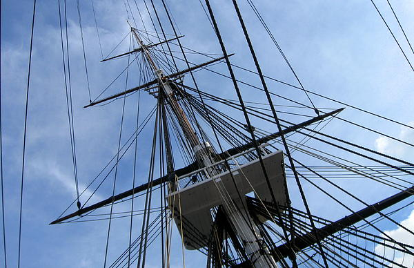Old Ironsides Print by Anne Babineau