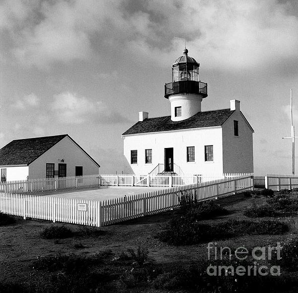 Old Point Loma Lighthouse Print by Dean Robinson