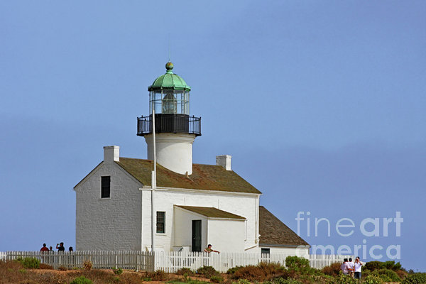 Christine Till - Old Point Loma Lighthouse San Diego California