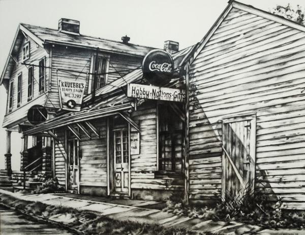Old Shawneetown Print by Michael Lee Summers