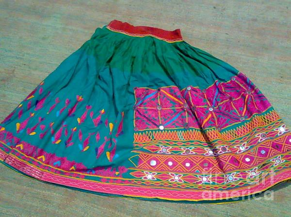 Old Skirt Tapestry - Textile