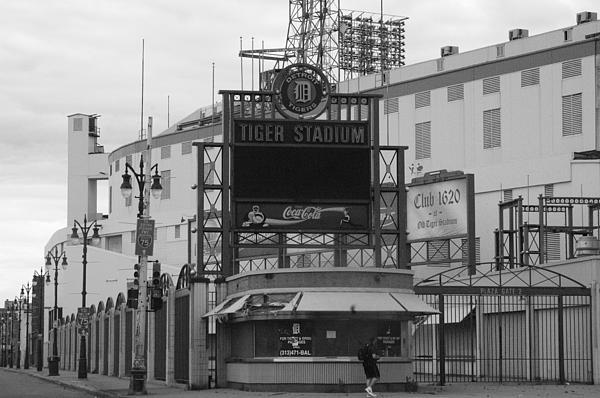 Sabrina  Hall  - Old Tiger Stadium
