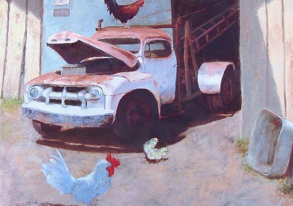 Howard Scherer - Old tow truck