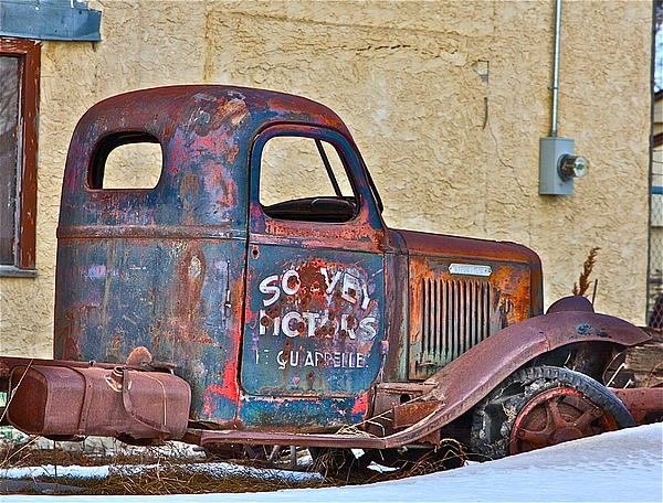 Johanna Bruwer - Old truck