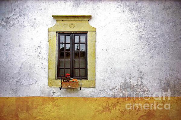Old Window Print by Carlos Caetano