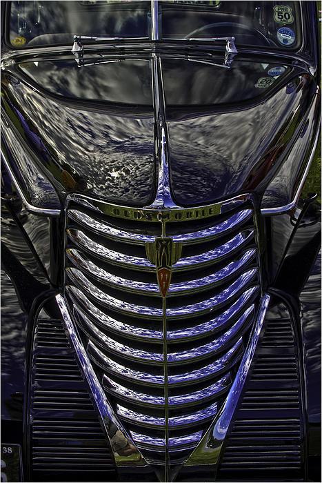 Oldsmobile Reflected Print by Nigel Jones