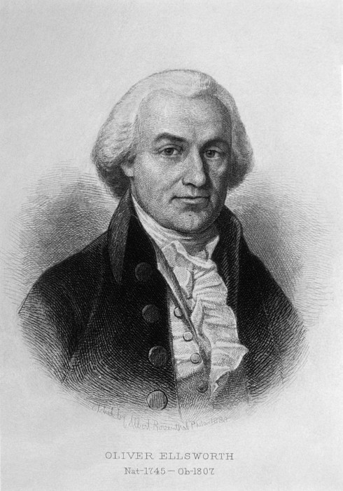Oliver Ellsworth 1745-1807, U.s Print by Everett