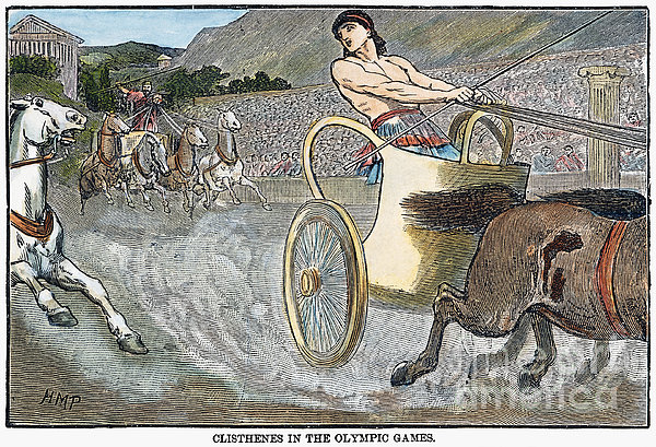 Olympic Games, Antiquity Print by Granger