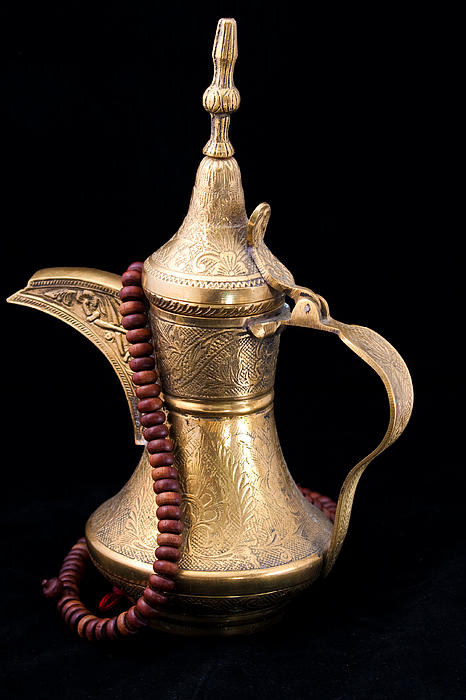 Omani Coffee Print by Tom Gowanlock